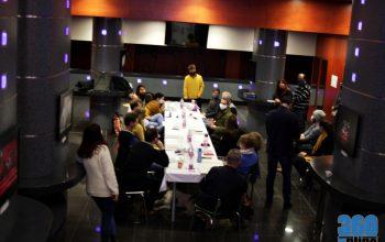 Black Comedy olvasópróba a Szegedi Nemzeti Színházban