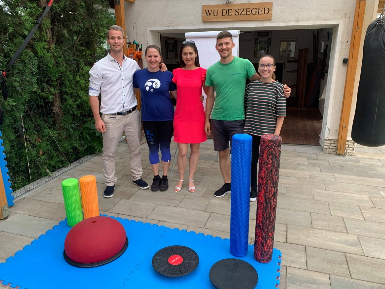 Szegedi fiatalok tesznek a mozgásszervi megbetegedések megelőzése érdekében