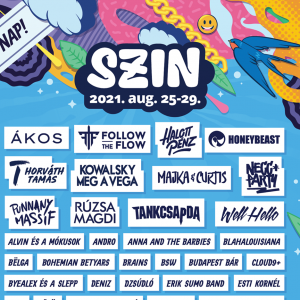 SZIN 2021 lineup