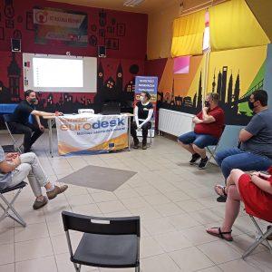 NIT mentorprogram látogatás a D2-ben